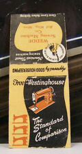Rare Vintage Matchbook Cover K2 Red Wing Minnesota Free Westinghouse Sewing Mach