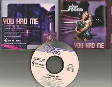 JOSS STONE You Had me 2TRX w/ RARE RADIO & ALBUM EDITS PROMO DJ CD single 2004