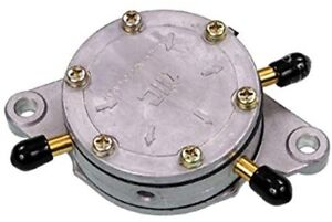 Mikuni - DF52-176 - Fuel Pump, Dual Outlet - Round 42-5310 14-2221 DF52