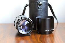 PENTAX Asahi Super Takumar 150mm f/4 M42 Screw mount lens  w/ Leather Case