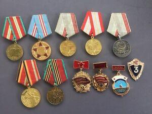 Medaille  Orden Konvolut Sammlung collection UdSSR СССР