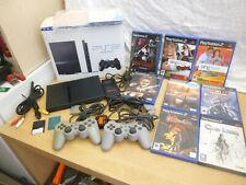 playstation2 bundle 8 games 2 controllers plus others