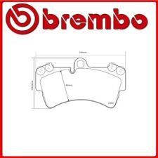 07.B314.20#10 PASTIGLIE FRENO ANTERIORE SPORTIVE BREMBO SPORT AUDI Q7 (4L) 3.6 F
