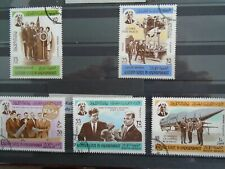 South Arabia. Kennedy Space . Private sale. 5 large stamps.