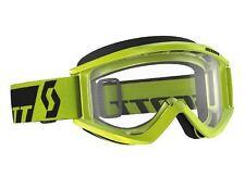 Scott RECOIL Xi Goggles Green / Clear Lexan Lens MX ATV Motocross 240591