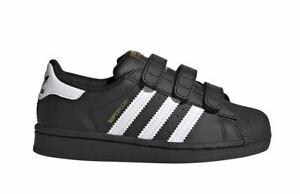 Adidas Superstar CF C Kinder Schuhe Sneaker Turnschuhe EF4840 (Schwarz)