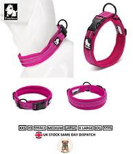 Truelove Soft Nylon Dog Collars Reflective Padded Dog Puppy Collar Adjustable