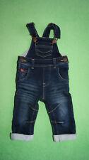 Next blue elegant denim dungarees for boy 3-6 months 8kg