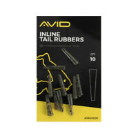 Avid Carp Outline In-Line Tail Rubbers *New* - Free Delivery
