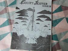 COURT  Jester  ROCK Music  Fanzine No 5 1980's Twelfth Night  Steve Hackett  etc