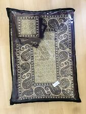 Indian Style Theme Dining Table Mats, Table Runner, & Napkins Set of 6