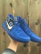 807e52edd31 Nike Kyrie 3 Duke 922027-001 Size 14 Game Royal Black EYBL Academy Pre-