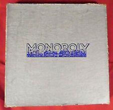 Spiel : Monopoly , Schmidt Nr 102/2 , ab 6 Jahre , 3-7 Spieler ,DM-Zeiten,1960er