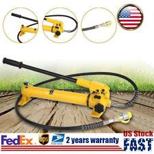 Cp 700 Hydraulic Hand Pump 700bar 38 Npt With 4 Foot Long Hoseamphose Coupler Usa