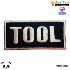 Tool Music Band Embroidered Iron On Sew On PatchBadge For Clothes etc