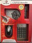 Targus Laptop Accessory Kit w USB Hub, Chill Mat, Optical Mouse, 10-Key Keypad