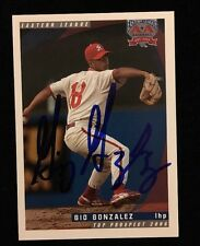 GIO GONZALEZ 2006 GRANDSTAND RC Autograph Signed AUTO Baseball Card NATIONALS