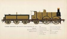 London Brighton & South Coast Railway locomotive Brighton 1882 Stroudley 1958