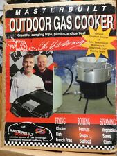 MASTERBUILT OUTDOOR GAS COOKER - Heat Resistant Basket Handle Large Aluminum Pot