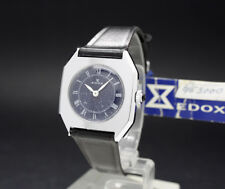 New Old Stock Ladies rare EDOX Swiss MECHANICAL vintage watch NOS Fancy dial!!