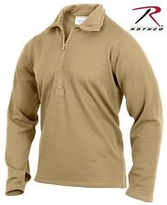 Military Type AR-670-1 Coyote Brown Cold Weather Base Layer Winter Shirt Top
