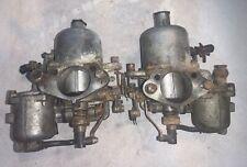 Set of SU Carburetors off 1969 Datsun 2000 Roadster. Needs Rebuild —T2–