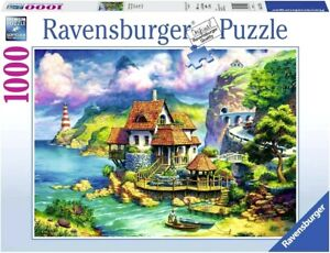 RAVENSBURGER PUZZLE. The Cliff House 1000 PCS. ITEM NR.15273. NEW