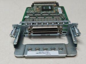Cisco HWIC-16A Interface Card **90 Days Warranty, Fast Ship**