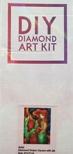 Diamond Art Club DIY Art Kit - Ariel Diamond Shape - Square w/ AB (Sz - 57x77cm)