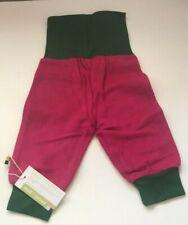 Loud + Proud Baby Girls' Fleece Trousers Pink/Green Size 62-68 New