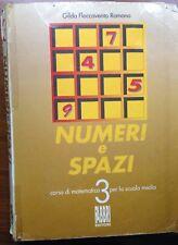 Numeri e spazi Vol. 3 - Gilda Romano - Fabbri - 2000 - M