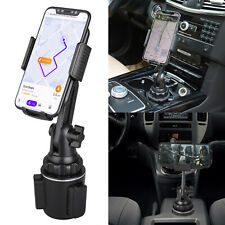 360 Degree Adjustable Car Cup Holder Stand Cradle Mount For iPhone Phone Fo J2S2