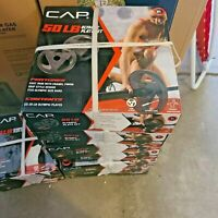NEW in Box CAP 50 lb Olympic Weight Plate Set (2x 25 lb Plates) FREE SHIP