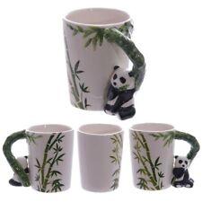 Ceramic Jungle Mug with Panda and Bamboo Handle Drinking Tea Coffee GiftSMUG27