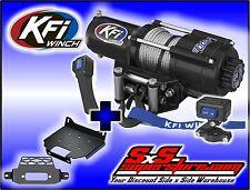 4500 lb KFI Winch Mount Combo Polaris  RZR 2014-2017+ XP1000 XP 1000, 900, Turbo