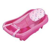 NEW In Box The First Years Sure Comfort Deluxe Newborn To Toddler Tub Bath, Pink