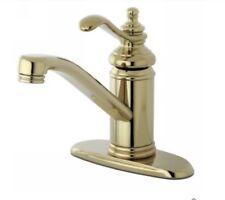 "Kingston Brass Templeton Collection Single Handle 4"" Centerset Lavatory Faucet +"