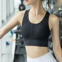 Women Comfort Sport Bra Ladies Crop Top Gym Yoga Workout Run Fitness Shaper Vest