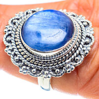 Kyanite 925 Sterling Silver Ring Size 6.75 Ana Co Jewelry R58677F