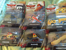 Disney Planes fire and rescue six toy model set