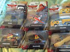 Disney Aviones Bomberos y Salvamento seis Juguete Modelo Set