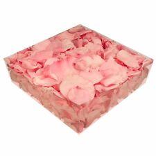 Echte konservierte Rosenblätter - Streukörbchen Hochzeit Tischdeko - rosa