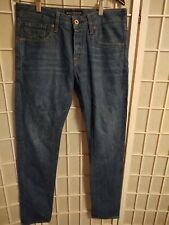 Men's SCOTCH & SODA Amsterdam Blauw Ralston Blue Denim Slim Jeans Tag 30 x 32 #3