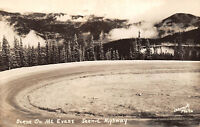 Idaho Springs Colorado 1940s RPPC Real Photo Postcard Scenic Highway by Sanborn