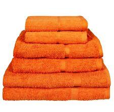 Asciugamani arancione Asciugamano da bagno per il bagno