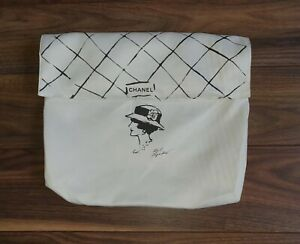 NEW CHANEL LIMITED EDITION KARL LAGERFELD LARGE DUST BAG COVER