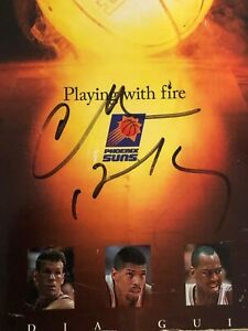 CHARLES BARKLEY autographed 1994-95 PHOENIX SUNS MEDIA GUIDE Yearbook