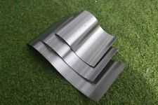 1.2 18swg Stainless Steel grade 304 Wave S Curve Mold Glass Mould set of 3