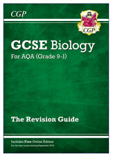 Buy chemistry school textbook and study guide ebay new grade 9 1 gcse biology aqa revision guide with online edition by cgp fandeluxe Gallery