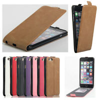 2016 New Ultra Slim PU Leather Flip Case Cover Pouch For iphone Models